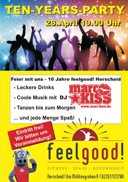 28.04.2018   Feelgood Party